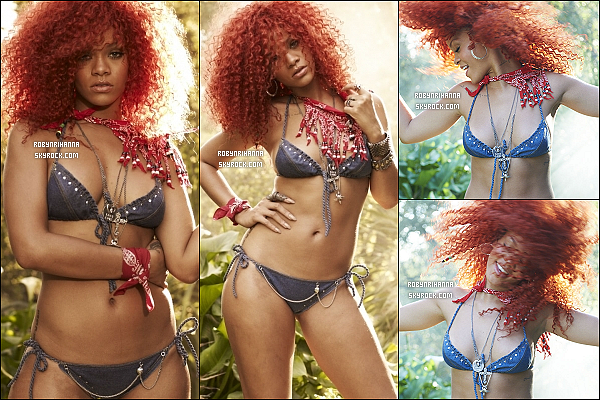 """. • Découvrez les outtakes de Rihanna pour le magazine """"Rolling Stone"""" 2011 . ."""
