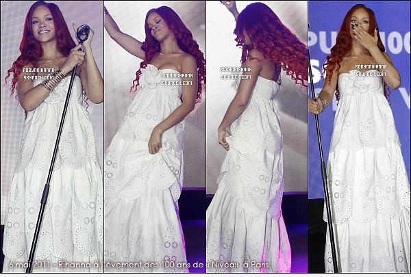 . RIHANNA ET SES PERFORMANCES EN 2011 ( PARTIE 1 ) ...  Elle a donné beaucoup de concerts cette année. Promotion, festival, tournée.. Quels sont tes lives préférés ? .