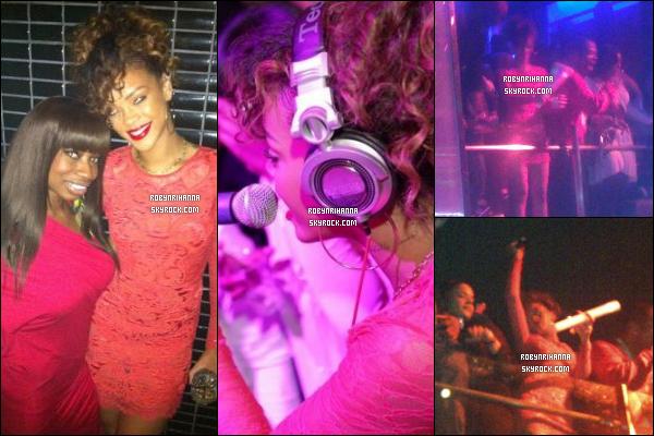 * 01/01/2012 :* Notre fêtarde, était encore de sortie à Miami, cette fois-ci elle s'est rendue au club « LIV ».  *