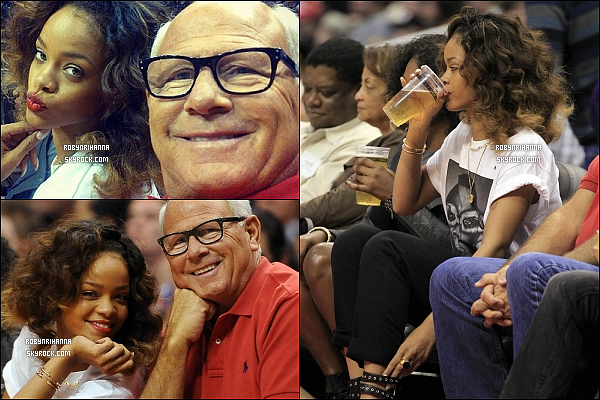 * 26/01/2012':' Rihanna a été vue assistant à un match de basket au Staples Center de Los Angeles.  + « WFL » est en seconde position du « Billboard Hot 100 », et reste donc dans le Top 03 pour la 13 ème semaine consécutive ! *