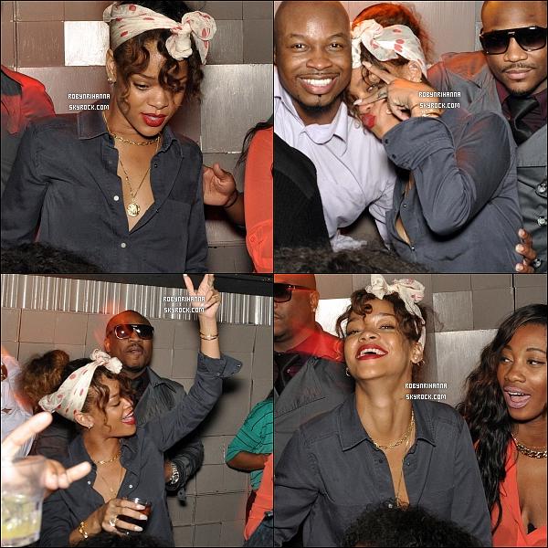 * 28/01/2012':' Rihanna a été photographiée  en faisant la fête dans une boîte de nuit à Los Angeles .. + Le photoshoot pour le magazine « Esquire » a été dévoilé intégralement et où Rih apparait plus belle que jamais. Voir les photos ? *