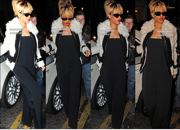 * 20/02/2012':' Rihanna a été fêté son anniversaire au restaurant « Nozomi » à Londres. Top ou Flop ?  + La version longue de « Birthday Cake » est disponible, ainsi qu'un remix de « Turn Up The Music » de Chris Brown avec Rihanna ! *