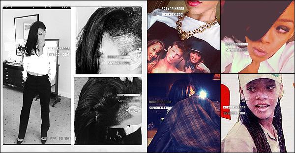 * INSTAGRAM ___Voici pleins de nouvelles photos postées par Rihanna sur son compte.*