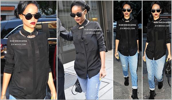 ". 15.06.12"":""Rihanna a été aperçue dans les rues de New York, allant au restaurant « Da Silvano ». Top ou flop ? ."