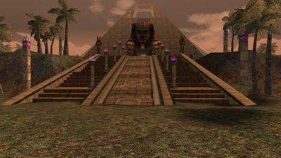 la Pyramide ou la tombe de theo a dratan