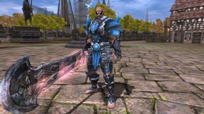 mon titan en armure Arkan lv95/97