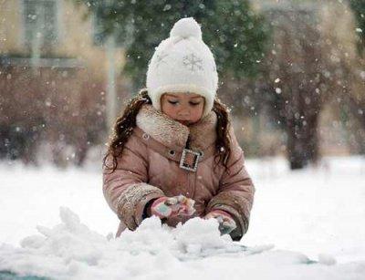 Heute hat's geschneit ! *-*