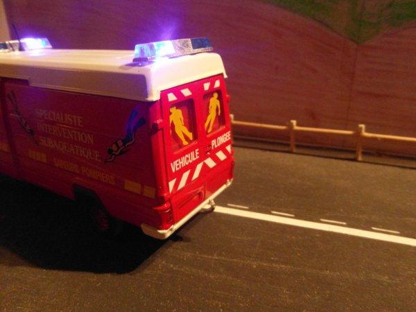 Nouveautes Pompier  montage gyroled par mes soins