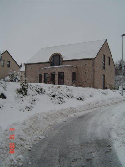 Il neige aussi en Belgique