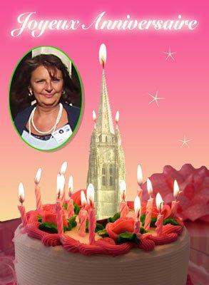 Bon anniversaire Chantal