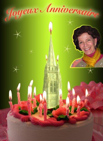 Bonne anniversaire Roselyne