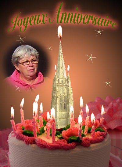Bon anniversaire Arlette