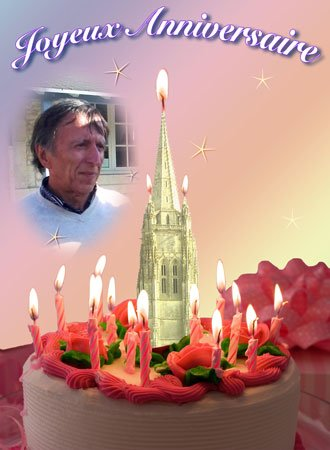 Bon anniversaire Daniel