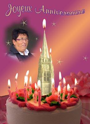 Bon anniversaire Marlyse
