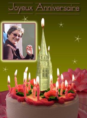 Bon anniversaire Maryse