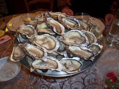 Les huîtres japonaises