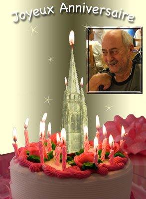 Bon anniversaire Gérard
