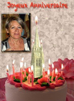 Bon anniversaire Catherine