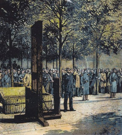 Une exécution à Marennes