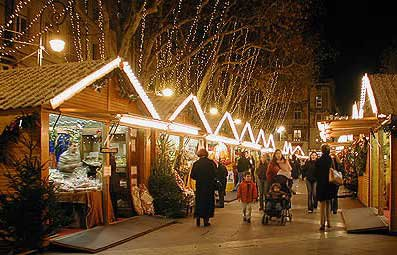 Les origines du marché de Noël