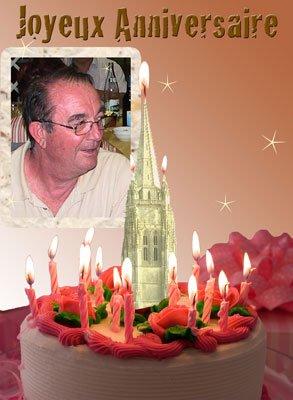 Bon anniversaire André