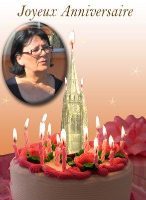 Bon anniversaire Evelyne