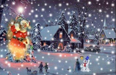 Les préparatifs de Noël
