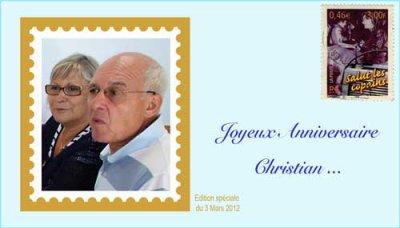 Bon anniversaire Christian
