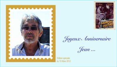 Bon anniversaire Jean