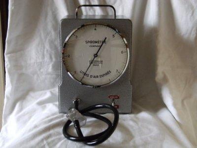 Le spiromètre