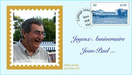 Bon anniversaire Jean-Paul