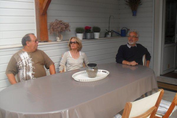 Visite de chambres d'hôtes à Bourcefranc