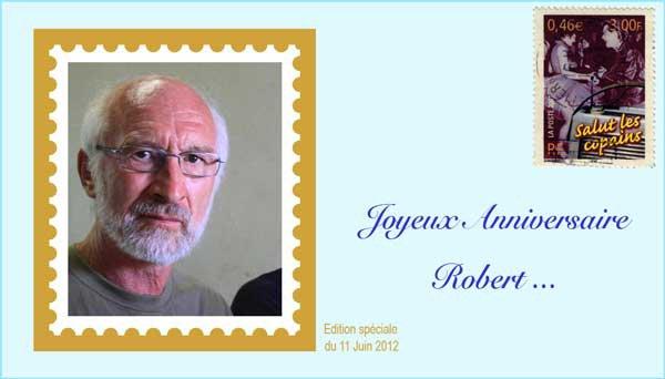 Bon anniversaire Robert