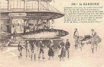 La sardine ...