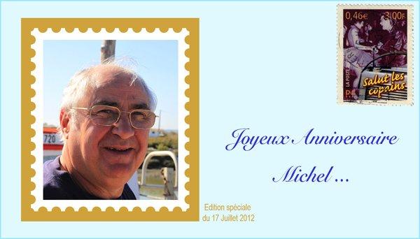 Bon anniversaire Michel