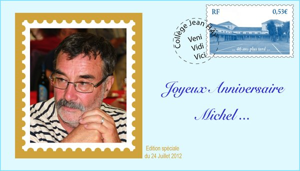 Bon anniversaire Michel (Hysoulet)