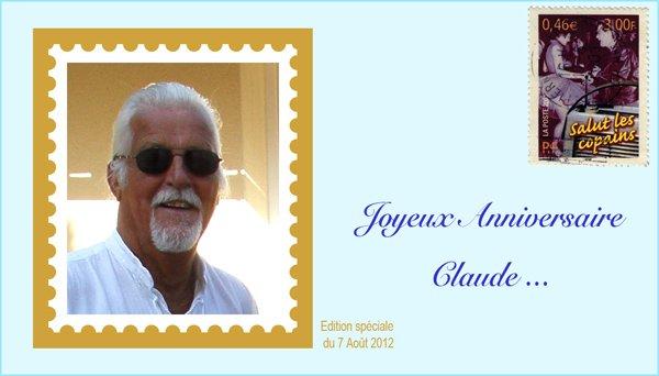 Bon anniversaire Claude