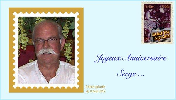 Bon anniversaire Serge