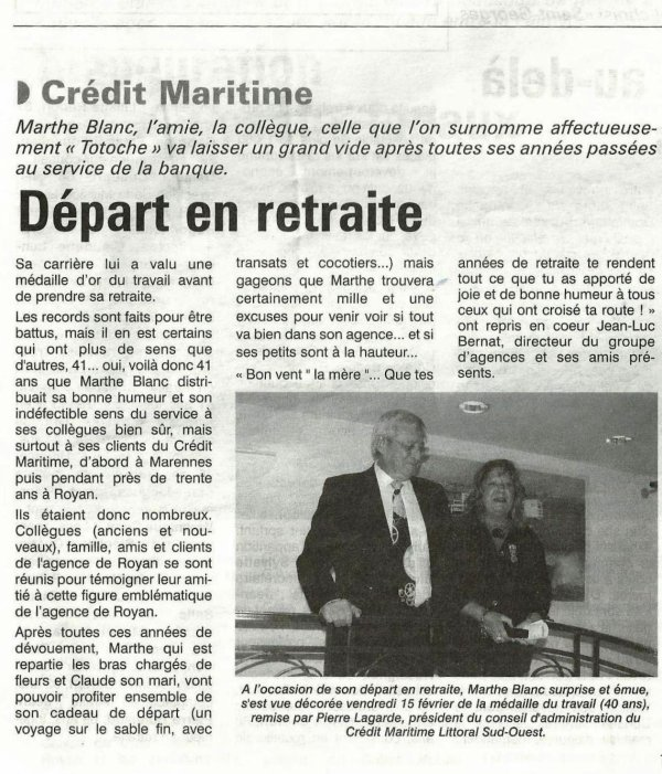 Le Crédit Maritime Mutuel (suite et fin)