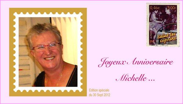 Bon anniversaire Michèle