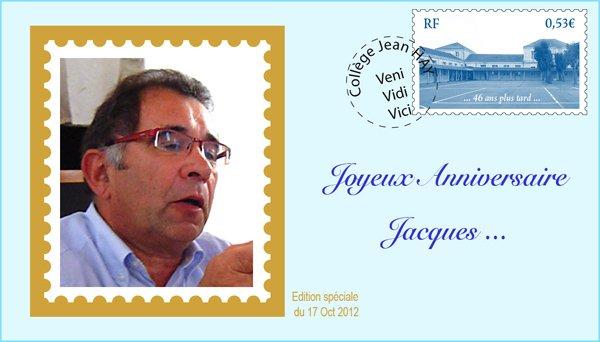 Bon anniversaire Jacques