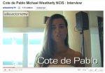 » Quand Cote de Pablo est interviewée, ça donne ça!
