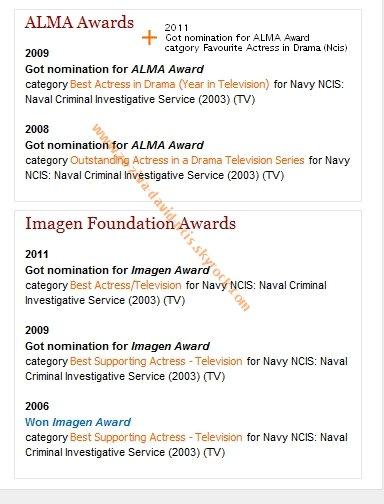 » Nomination ALMA Awards 2011 et résultats
