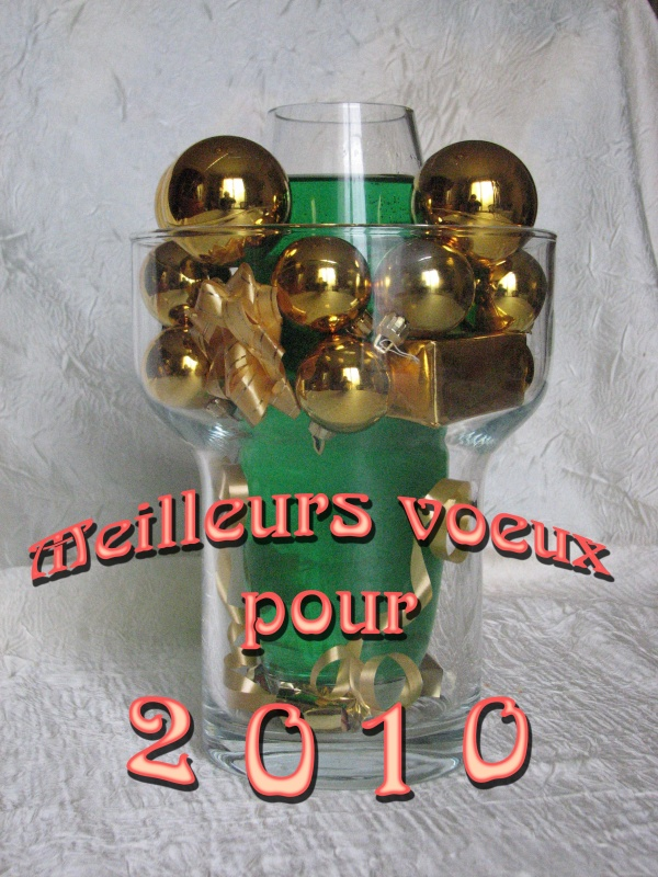 Bonne Année 2010
