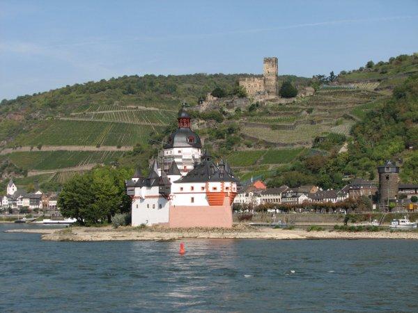 Notre croisière sur le Rhin