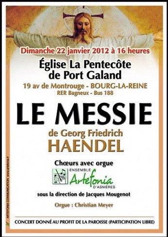 Le Messie de Haendel : La suite