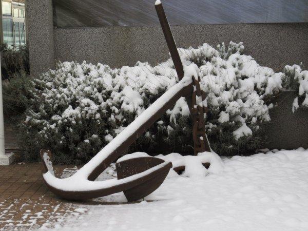 Neige à Anières (Mars 2013)