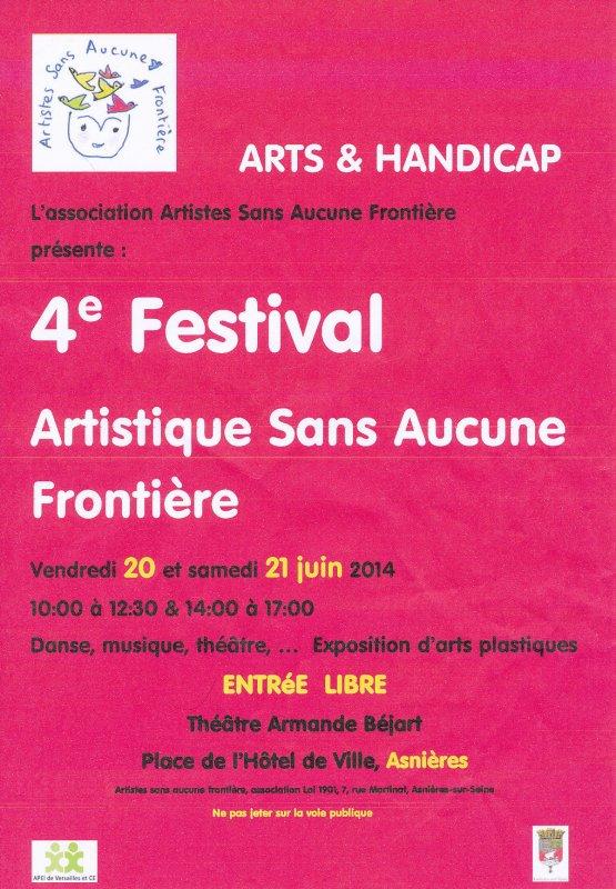4em Festival artistique sans aucune frontière