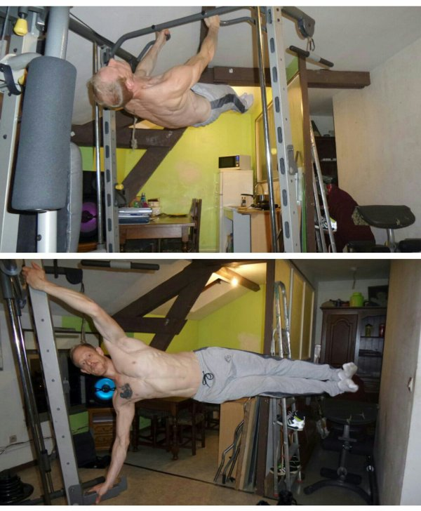 FRONT LEVER - HUMAN FLAG # STREET WORKOUT #