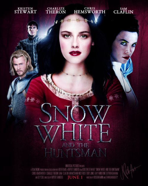 L'affiche de Snow White and Huntsman !